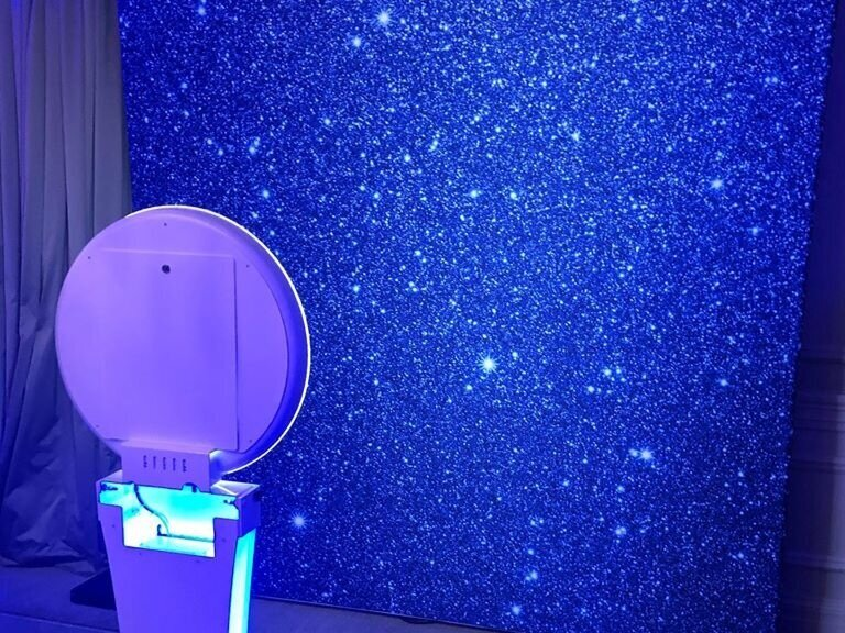 Selfie station with backdrop for your event in Northeast Pennsylvania