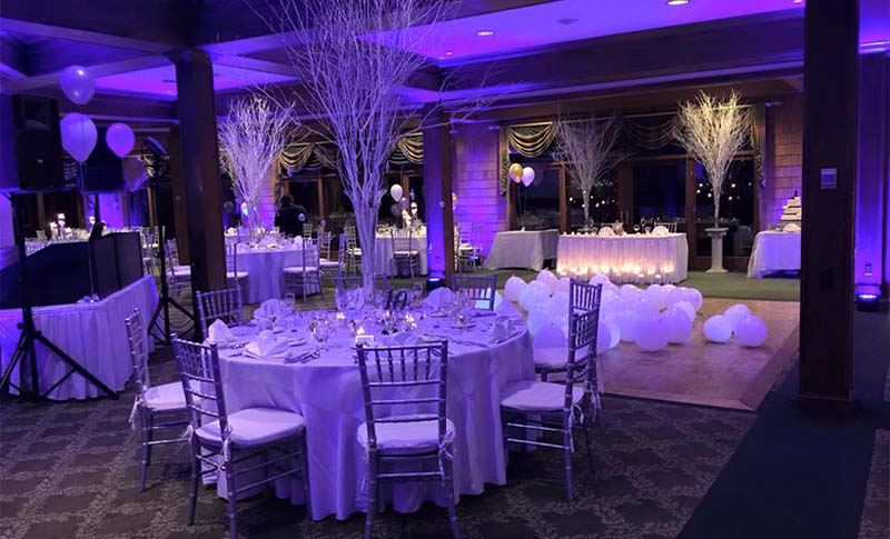 Uplighting & dance floor lighting to transform your event